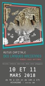 Autun capitale des langues anciennes