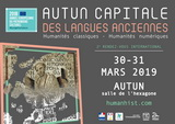 Autun capitale des langues anciennes, 2e RDV international
