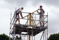 Périgueux, inauguration de la pompe en 2011