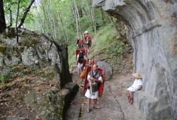 Journées Romaines aux Monts de Lans, 2012