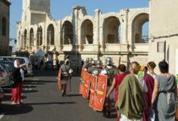 déambulations dans les rues d'Arles
