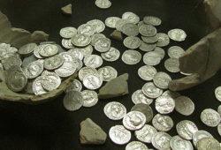 Llanvaches, monnaie romaine