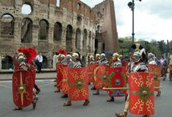 Rome, devant le Colisée