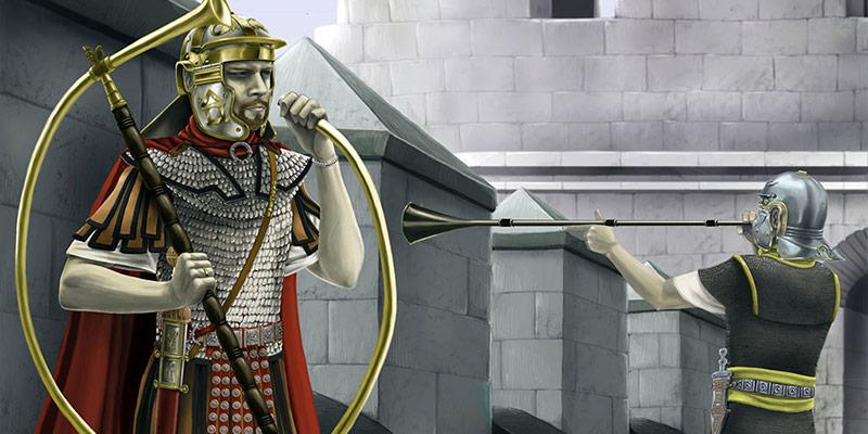 La musique militaire romaine