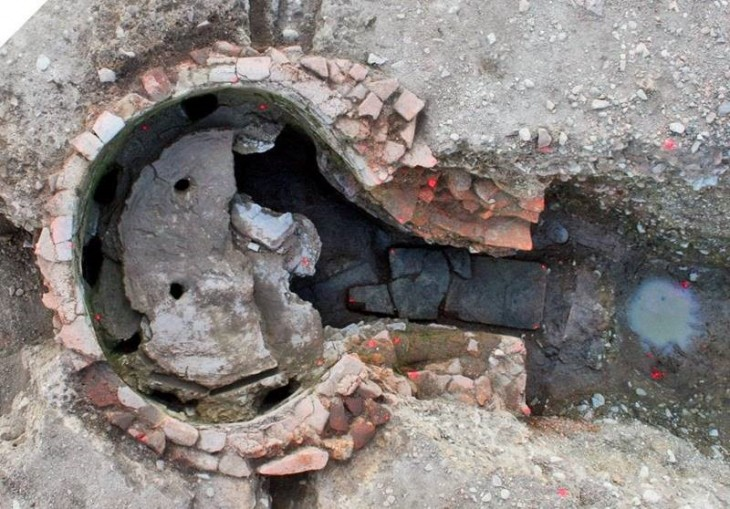 Four de Pistillus retrouvé en fouilles.