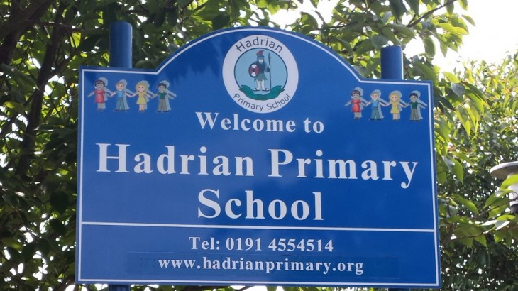 South Shields - Hadrian school