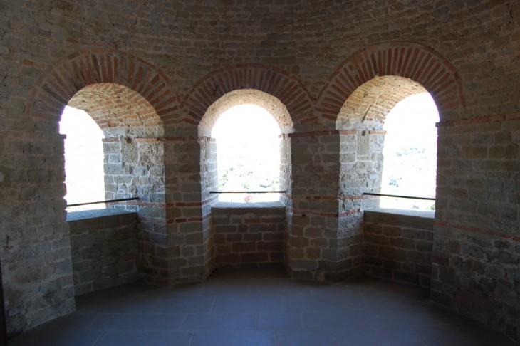 vue intérieur de la tour rempart