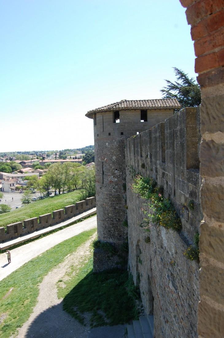 vue sur une tour romaine
