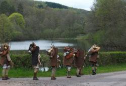 Légionnaires Romains en marche dans le Morvan Antique ...