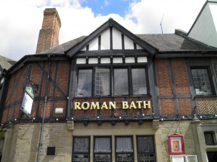 Le « Roman Bath pub »