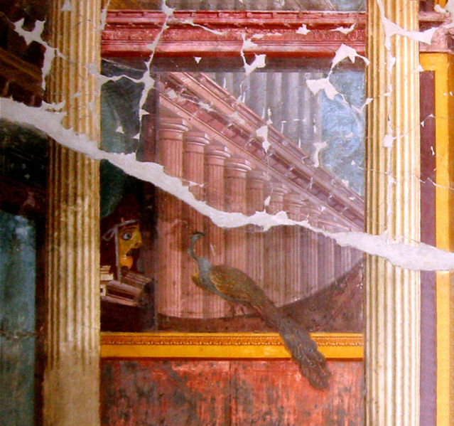 Fresque d'une villa d'Oplontis, salle 15