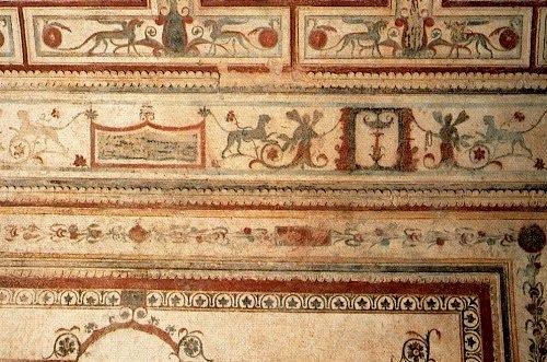 fresque de la Domus Aurea, fin du Ier siècle